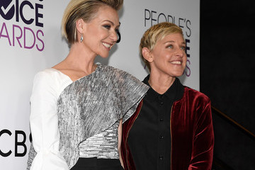 Portia de Rossi People's Choice Awards 2017 - Press Room