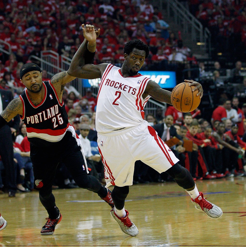 Portland Blazers Game: Mo Williams In Portland Trail Blazers V Houston Rockets
