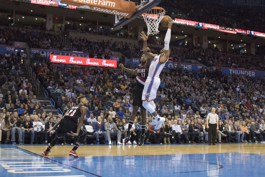 thunder vs trail blazers - photo #47