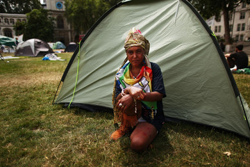 Tracey A Portrait Of The Parliament Square Peace Camp As Eviction Looms