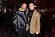 Luca Guadagnino and Willy Vanderperre attend the dinner co-hosted by Prada and Vogue Paris on January 19, 2020 in Paris, France.