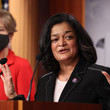 Pramila Jayapal European Best Pictures Of The Day - March 02