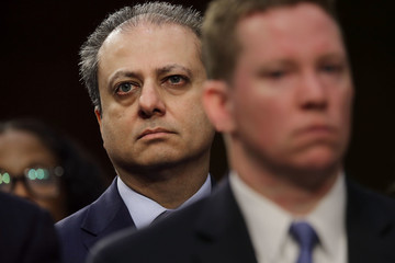 Preet Bharara James Comey Testifies at Senate Hearing on Russian Interference in US Election