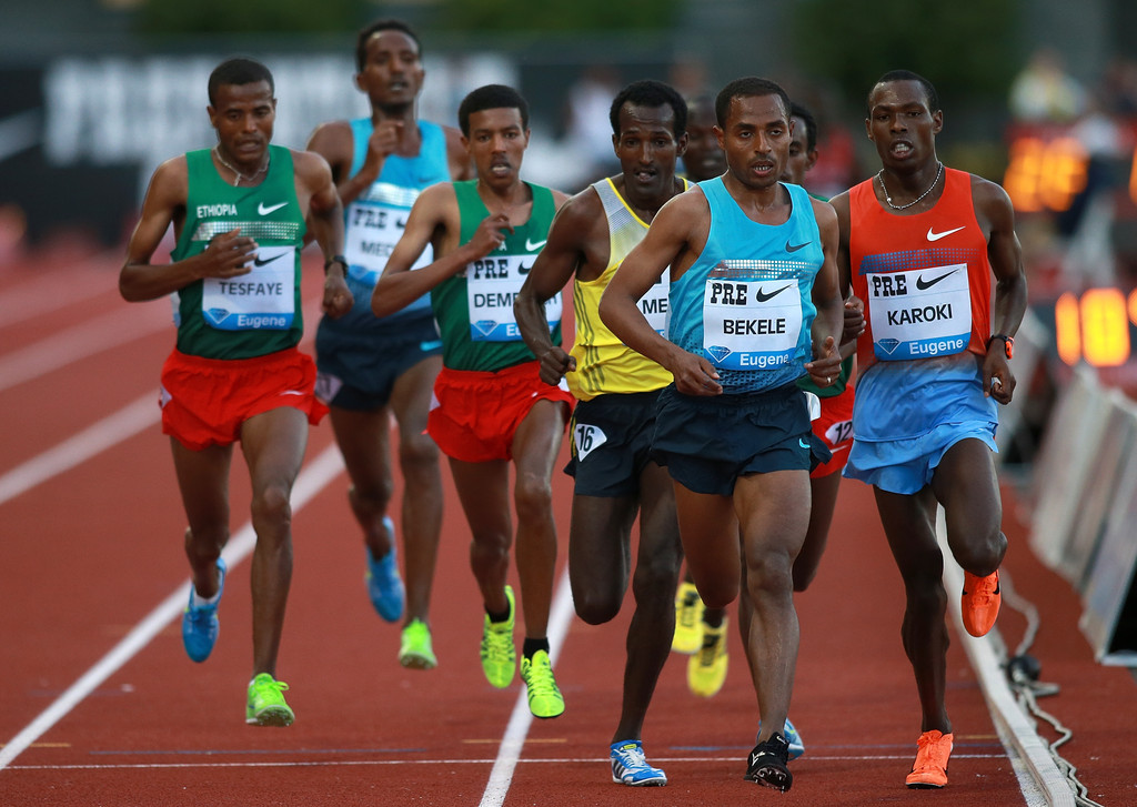 Prefontaine Classic - Day 1(Kenenisa Bekele)