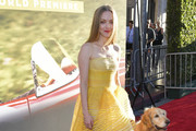"""Amanda Seyfried attends the premiere of 20th Century Fox's """"The Art of Racing in the Rain"""" at El Capitan Theatre on August 01, 2019 in Los Angeles, California."""