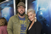 """Chris Sullivan (L) and Rachel Reichard attend the premiere of 20th Century Fox's """"Breakthrough"""" at Westwood Regency Theater on April 11, 2019 in Los Angeles, California."""
