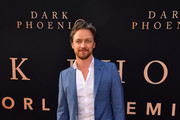 "James McAvoy attends the premiere of 20th Century Fox's ""Dark Phoenix"" at TCL Chinese Theatre on June 04, 2019 in Hollywood, California."