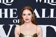 """Karen Gillan attends the Premiere of 20th Century Studios' """"The Call of the Wild"""" at El Capitan Theatre on February 13, 2020 in Los Angeles, California."""
