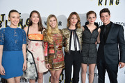 "Actors Taissa Farmiga, Katie Chang, Claire Julien, director Sofia Coppola, actors Emma Watson and Israel Broussard arrive to the Los Angeles premiere of A24's ""The Bling Ring"" at Directors Guild Of America on June 4, 2013 in Los Angeles, California."