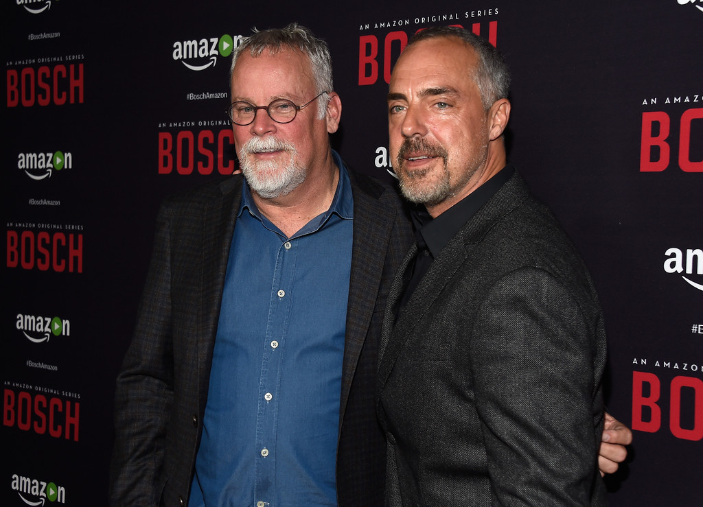 titus welliver and michael connelly photos photos zimbio. Black Bedroom Furniture Sets. Home Design Ideas