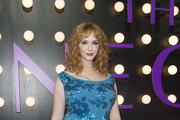 Actress Christina Hendricks attends the Neon Demon Premiere, in Hollywood, California, on June 14, 2016. / AFP / VALERIE MACON