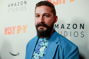 "Shia LaBeouf attends the premiere of Amazon Studios ""Honey Boy"" at The Dome at Arclight Hollywood on November 05, 2019 in Hollywood, California."