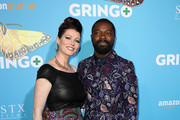Jessica Oyelowo (L) and David Oyelowo attend the world premiere of 'Gringo' from Amazon Studios and STX Films at Regal LA Live Stadium 14 on March 6, 2018 in Los Angeles, California.