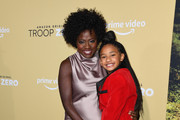"Viola Davis and daughter Genesis Tennon attend the premiere of Amazon Studios' ""Troop Zero"" at Pacific Theatres at The Grove on January 13, 2020 in Los Angeles, California."