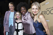 "(L-R) Allison Janney, McKenna Grace, Viola Davis, and Lucy Alibar arrive at the premiere of Amazon Studios' ""Troop Zero"" at Pacific Theatres at The Grove on January 13, 2020 in Los Angeles, California."