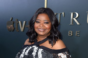 """Octavia Spencer attends the Premiere of Apple TV+'s """"Truth Be Told"""" at AMPAS Samuel Goldwyn Theater on November 11, 2019 in Beverly Hills, California."""