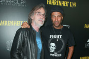 "Jackson Browne (L) and Tom Morello attend the premiere of Briarcliff Entertainment's ""Fahrenheit 11/9"" at Samuel Goldwyn Theater on September 19, 2018 in Beverly Hills, California."