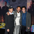 Will Smith and Trey Smith Photos