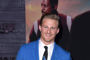 """Alexander Ludwig attends the premiere of Columbia Pictures' """"Bad Boys For Life"""" at TCL Chinese Theatre on January 14, 2020 in Hollywood, California."""