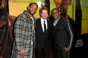 "(L-R) Will Smith, Jerry Bruckheimer, and Martin Lawrence attend the premiere of Columbia Pictures' ""Bad Boys For Life"" at TCL Chinese Theatre on January 14, 2020 in Hollywood, California."