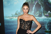 """Charlotte McKinney attends the premiere of Columbia Pictures' """"Blumhouse's Fantasy Island"""" at AMC Century City 15 on February 11, 2020 in Century City, California."""