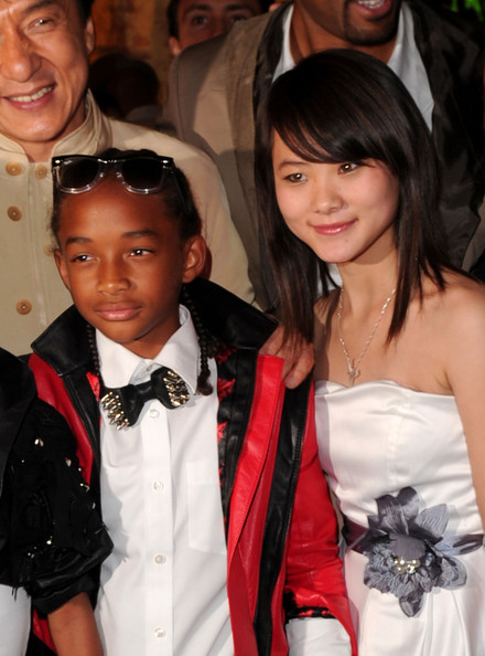 """Jaden Smith Actors Jaden Smith and Wenwen Han attend premiere of Columbia Pictures' """"The Karate Kid"""" after party held at Mann Village Theatre on June 7, 2010 in Westwood, California."""