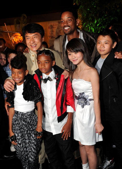 Zhenwei wang and jaden smith