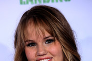 "Actress Debby Ryan attends the ""Prep & Landing"" film premiere at The El Capitan Theatre on November 16, 2009 in Hollywood, California."