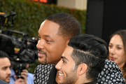Will Smith and Mena Massoud Photos Photo