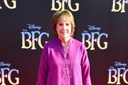 """Actress Penelope Wilton attends Disney's """"The BFG"""" premiere at the El Capitan Theatre on June 21, 2016 in Hollywood, California."""
