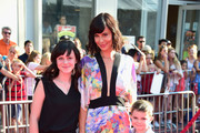 """Actress Catherine Bell (C) and guests attend Disney's """"The BFG"""" premiere at the El Capitan Theatre on June 21, 2016 in Hollywood, California."""