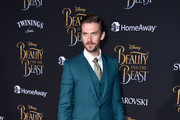 """Actor Dan Stevens attends Disney's """"Beauty and the Beast"""" premiere at El Capitan Theatre on March 2, 2017 in Los Angeles, California."""