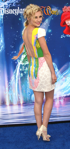 """Actress Chelsea Staub attends the premiere of Disney California Adventure Park's """"World of Color"""" Spectacular on June 10, 2010 in Anaheim, California."""