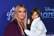 """Ashlee Simpson and Jagger Snow Ross attend the premiere of Disney's """"Frozen 2"""" at Dolby Theatre on November 07, 2019 in Hollywood, California."""