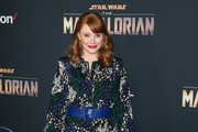 "Bryce Dallas Howard attends the premiere of Disney+'s ""The Mandalorian"" at the El Capitan Theatre on November 13, 2019 in Los Angeles, California."