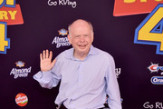 """Wallace Shawn attends the premiere of Disney and Pixar's """"Toy Story 4"""" on June 11, 2019 in Los Angeles, California."""