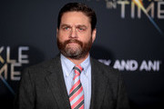 "Zach Galifianakis attends the premiere of Disney's ""A Wrinkle In Time"" at the El Capitan Theatre on February 26, 2018 in Los Angeles, California."