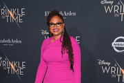 "Ava DuVernay attends the premiere of Disney's ""A Wrinkle In Time"" at the El Capitan Theatre on February 26, 2018 in Los Angeles, California."