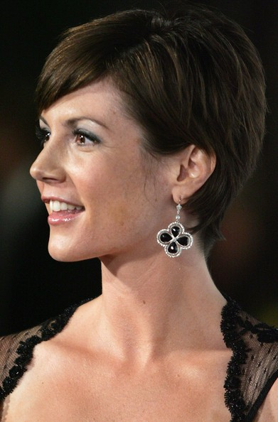 Zoe McLellan Actress Zoe McLellan attends the premiere for