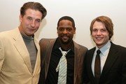 "(L-R)  Actors William Baldwin, Blair Underwood and Seth Gabel attend the after party for the premiere of ""Dirty Sexy Money"" at the paramount Theatre September 23, 2007 in Hollywood, California."