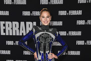 """Meredith Mickelson attends the Premiere of FOX's """"Ford V Ferrari"""" at TCL Chinese Theatre on November 04, 2019 in Hollywood, California."""