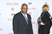 Director John Singleton attends the premiere of FX's 'American Crime Story - The People V. O.J. Simpson' at Westwood Village Theatre on January 27, 2016 in Westwood, California.