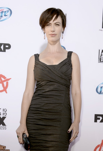 Premiere Of FX s  quot Sons Of Anarchy quot  Season 6 - Red CarpetMaggie Siff Sons Of Anarchy Season 6