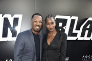 """Corey Hawkins and Damaris Lewis attends the Premiere Of Focus Features' """"BlacKkKlansman""""  at Samuel Goldwyn Theater on August 8, 2018 in Beverly Hills, California."""