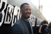 Corey Hawkins attends the premiere of Focus Features' 'BlaKkKlansman' at Samuel Goldwyn Theater on August 8, 2018 in Beverly Hills, California.