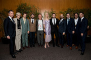 "(L-R) Robert Walak, Troye Sivan, Lucas Hedges, Garrard Conley, Flea, Nicole Kidman, Joel Edgerton and Peter Kujawski attend the premiere of Focus Features; ""Boy Erased"" at Directors Guild Of America on October 29, 2018 in Los Angeles, California."