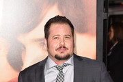 "Chaz Bono attends the premiere of Focus Features' ""The Danish Girl"" at Westwood Village Theatre on November 21, 2015 in Westwood, California."