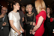 "(L-R) Actress Jessica Biel, Dame Helen Mirren and actress Toni Collette attend the after party for the premiere of Fox Searchlight Pictures' ""Hitchcock"" at the Academy of Motion Picture Arts and Sciences Samuel Goldwyn Theater on November 20, 2012 in Beverly Hills, California."
