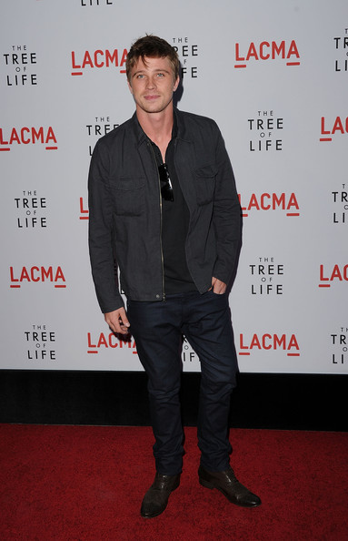 Actor Garrett Hedlund arrives at the premiere of Fox Searchlight Pictures' 'The Tree of Life' at the Bing Theatre at the Los Angeles County Museum of Art on May 24, 2011 in Los Angeles, California.