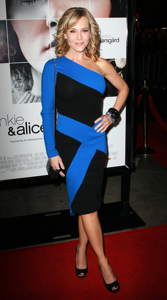 "Actress Julie Benz attends the premiere of ""Frankie and Alice"" at the Egyptian Theatre on November 30, 2010 in Hollywood, California."